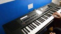 星月神话 Roland BK-5中央消音 MP3 WAV文件伴奏功能演示 电子琴
