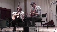 (Tommy Emmanuel) Waltzing Matilda - Gabriella Quevedo and Em