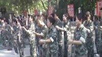 集体跳据说是成吉思汗起床舞-北大青鸟深圳嘉华学校