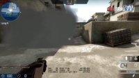 cnFrag.com - CS:GO教程de_dust2 A大道烟雾封警家