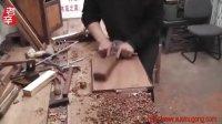 辛全生传统木工方凳子制作视频(第四集)