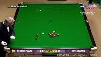 奥沙利文第九杆147 2008年斯诺克世锦赛对阵威廉姆斯