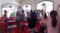 130407<赤脚的朋友们>录制现场,贤重教舞蹈