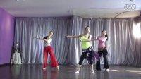 肚皮舞教程  二十八:吸腿转重心转换组合-分解版