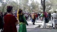 乌鲁木齐人民公园维吾尔族舞蹈20130413570
