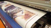 KEUNDO喷绘机太牛啦,一小时160平方的打印模式