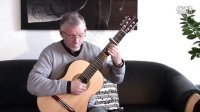 Bach_ Siciliano BWV 1001 for solo violin played on guitar