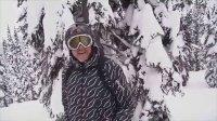滑雪教学视频-粉雪练习(山里兽滑雪)