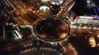 AE特效 延时摄影 城市风景 上海的夜晚 日出 LED广告 高清大屏幕视频素材