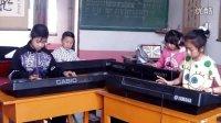 八级电子琴齐奏《杨柳青》1