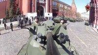 (GoPro摄制)2013红场卫国战争胜利日阅兵彩排