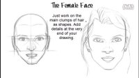 How to Draw the Female Face如何画女生的脸