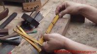 传统木工辛全生鲁班凳(也叫瞎掰)制作视频(第一集)