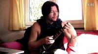 Jan Laurenz - Clocks cover on ukulele