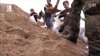 德联邦国防军参与洪水后救灾