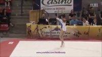 Andreea MUNTEANU FX - Match FRA vs ROM (June 2013)