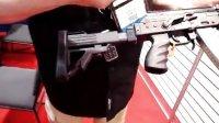 俄罗斯卡拉什尼科夫AKM突击Rifle_Carbine 7.62x39mm