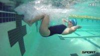 自由泳滚翻转身动作要领,Freestyle Flip-turn Progression