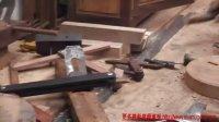 传统木工辛全生三条腿凳子制作视频(第一集)