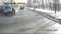 俄罗斯惊险车祸逃生帝合集