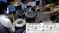架子鼓是怎样炼成的 第二课 基础节奏型 中国非著名鼓手程老师