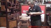 传统木工辛全生四腿八叉凳子制作视频(第三集)