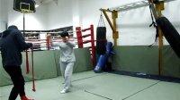 女子拳击绳索出拳规范标准1,Mark's BOXING GYM BeiJing2.22瑾