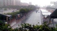 广州车陂暴雨突袭