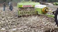 claas markant 65方捆玉米秸秆打捆机