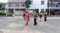 建群村广场舞双人舞   一曲相送