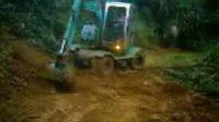 新源轮挖下坡