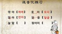 韩语学习 第一课:韩语基础入门教学视频 韩语音变第一课