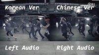 EXO GROWL 咆哮 MV 韩文版中文版对比