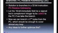 计算机科学 61C - 第九讲MIPS 指令格式