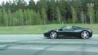 Lamborghini Gallardo Spyder vs Ferrari 458 Italia Spider