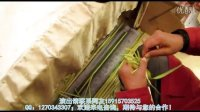 广州民间艺术 广州草编表演《龙虾》 广州草编演出  佛山草编