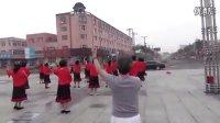 内蒙古好日沁姐妹广场健身舞14 高清《火车站》