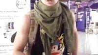 泰星new泰粉拍摄在机场