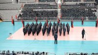 复旦大学军训19连歌咏比赛视频