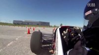 【cnFSAE.com】UWFM Formula North 2013 Autocross 2