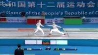 女子佩剑个人决赛 朱敏夺冠江苏揽金铜牌