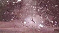 大篷车爆炸,使用奥林巴斯i-SPEED 2高速摄像机以1000 fps拍摄