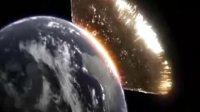 撞击地球模拟视频