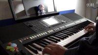 JVC GZ-E100  数码摄像机室内实拍视频 童年 PSR-S950电子琴