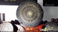 广西电视台公共频道《八桂新风采》栏目东兰铜鼓制造厂