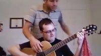 木吉他四手联弹