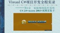 C#项目开发全程实录之家庭视频监控系统01:前言
