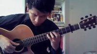 许岑指弹吉他演奏Pierre Bensusan《Wu Wei》