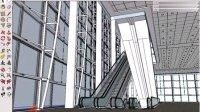 办公楼电梯过厅灯光设置方法