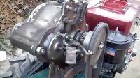 单缸柴油机机械全自动免摇启动器拆卸安装与说明起动机